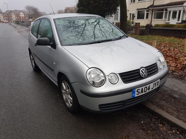 vw polo 2004 plate 12 months mot cheap tidy car