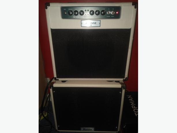Ibanez TSA15C guitar amp with extension cab