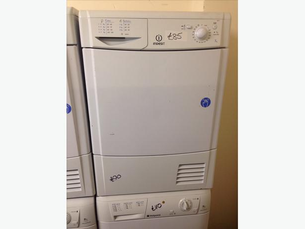7KG WHITE INDESIT CONDENSER DRYER