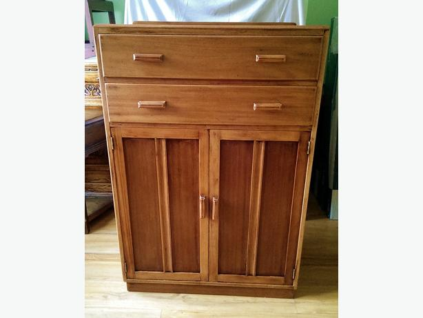 Wooden, Tallboy wardrobe, cupboard