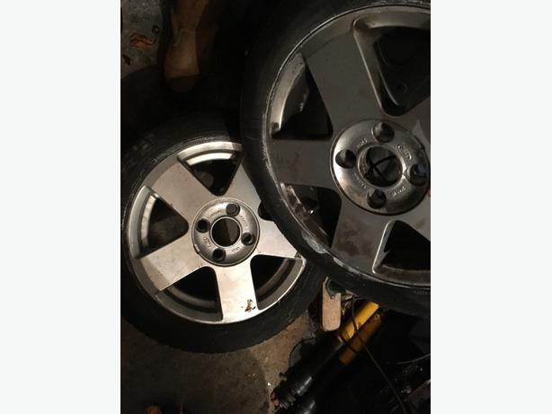 "FORD FIESTA 15"" alloys"