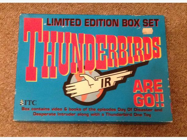 Thunderbirds Limited edition boxed set