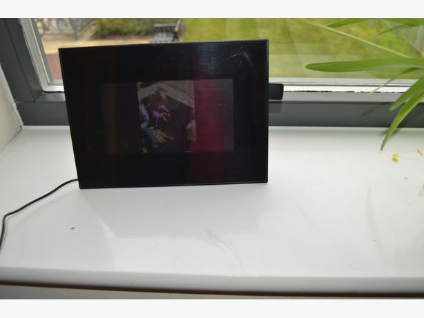 Digital photo frame for sale.