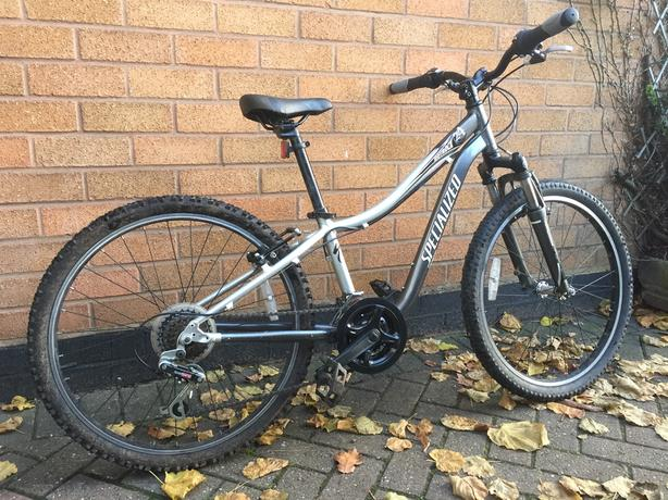 "Kids Specialized Mountain Bike 24"" Wheel size"