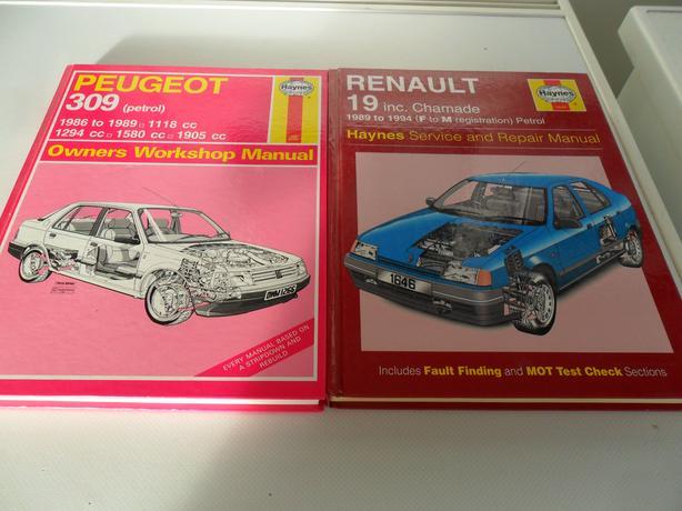 2 Car manuals