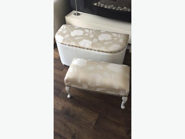 ottoman and footstool