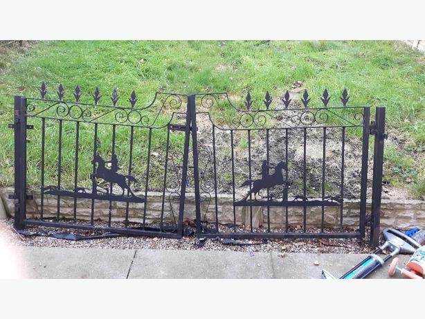 wrought iron gates