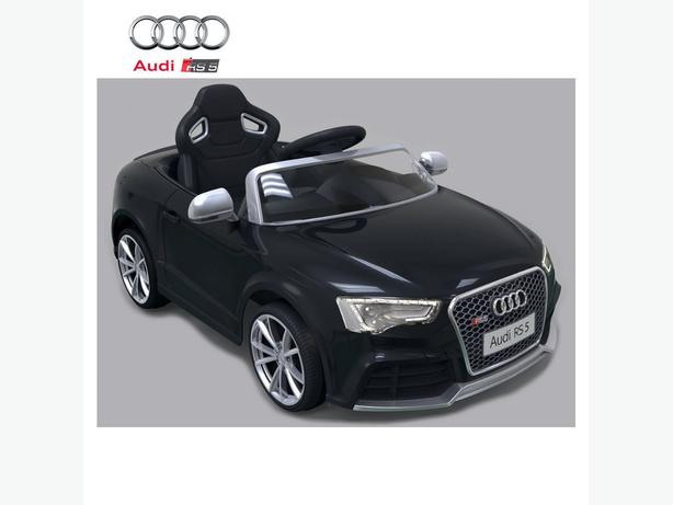 Licensed Audi new RS5 BLACK 12V Kids Electric Ride on KIDS Car Remote Control