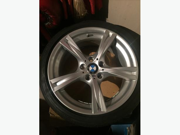 "SET OF GENUINE BMW M SPORT 8J E89 Z4 18"" ALLOY WHEELS"