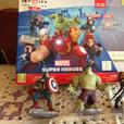 Disney Infinity 2.0 with extra figures