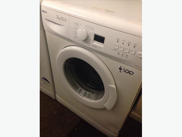 BEKO 7KG WHITE WASHING MACHINE1
