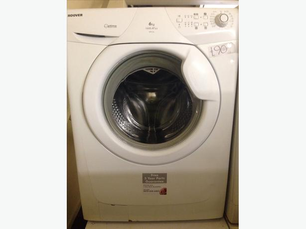 6KG WHITE HOOVER WASHING MACHINE