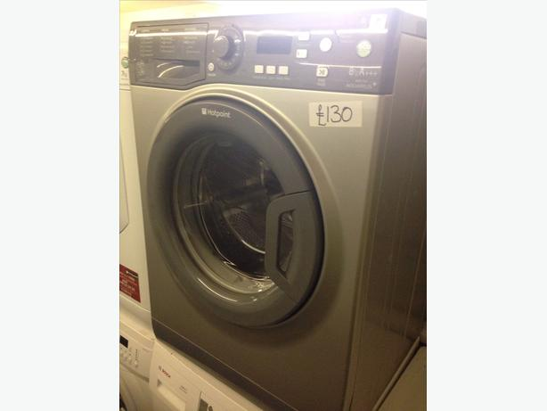 GRAPHITE GREY 8KG WASHING MACHINE