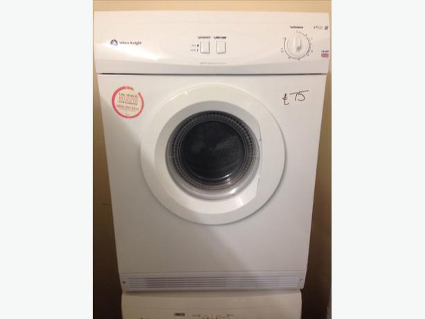 6KG WHITE KNIGHT VENTED DRYER0