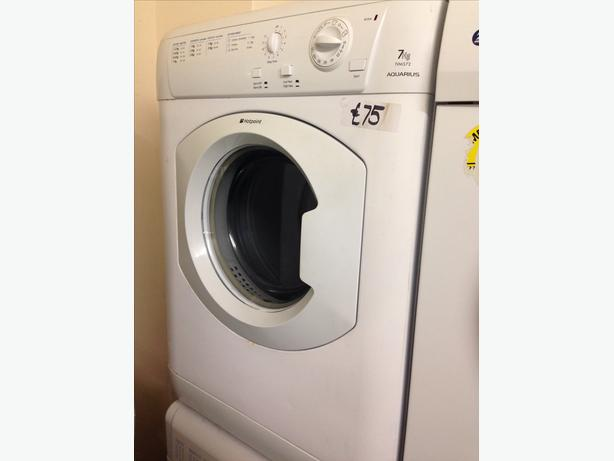7KG WHITE HOTPOINT VENTED DRYER