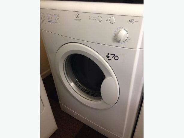 INDESIT 6KG VENTED DRYER