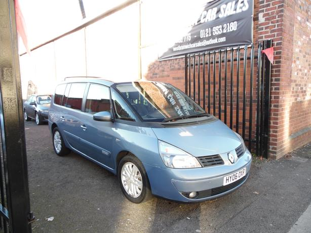RENAULT GRAND ESPACE , AUTOMATIC , DIESEL , FULL SERVICE HISTORY , 2006 REG