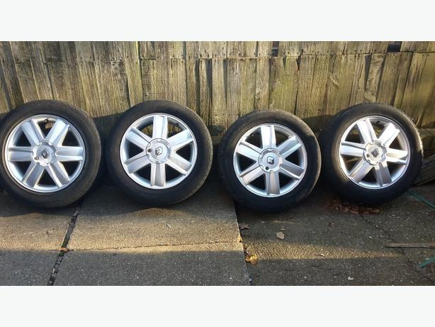 "renault 16"" alloys"