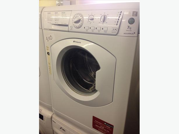 7KG HOTPOINT WHITE WASHING MACHINE
