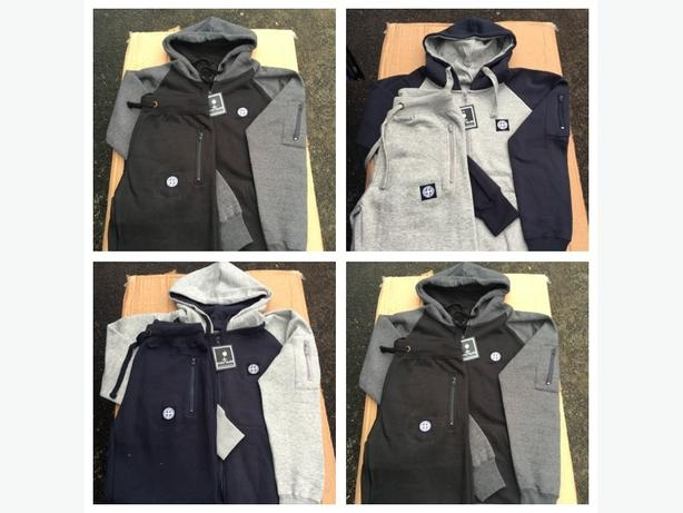 Fleece Material Tracksuits