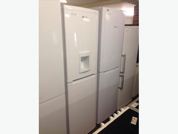 FROST FREE WHITE BEKO FRIDGE FREEZER WITH WATER DISPENSER