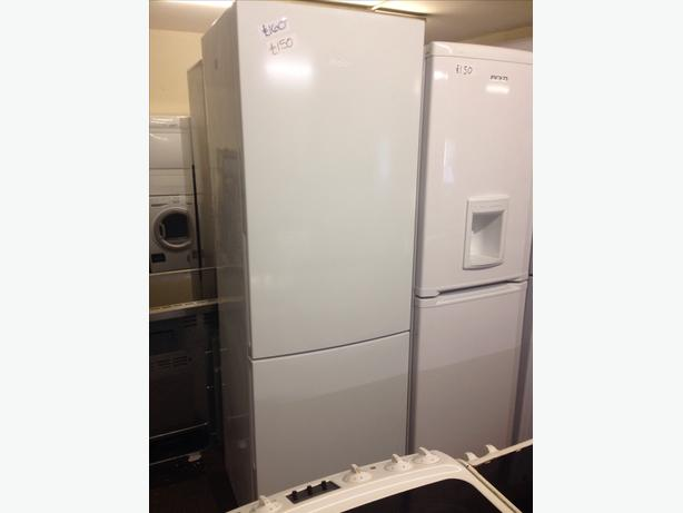 TALL WHITE HAIER FRIDGE FREEZER