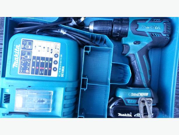 Makita bhp459 18v combi hammer drill brushlees