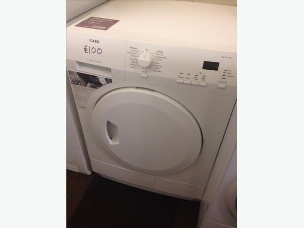 AEG 6KG CONDENSER DRYER WHITE2