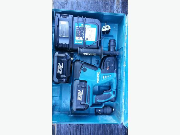 MAKITA BHR262 SDS 36V HEAVY DUTY 3 MODE SDS DRILL PLUS 36V BATTERY LI ION LXT
