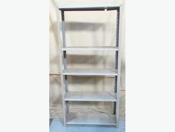 Five Shelf Metal racking