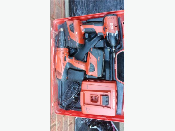 HILTI SFH 22-A AND HILTI SID 22-A TWIN PACK Bargain