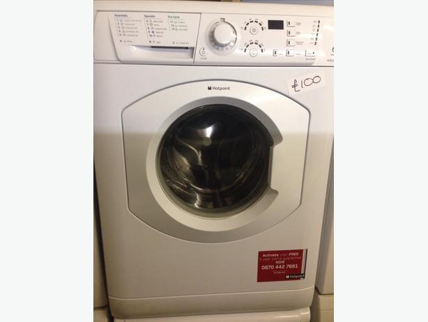 6KG WHITE HOTPOINT WASHING MACHINE