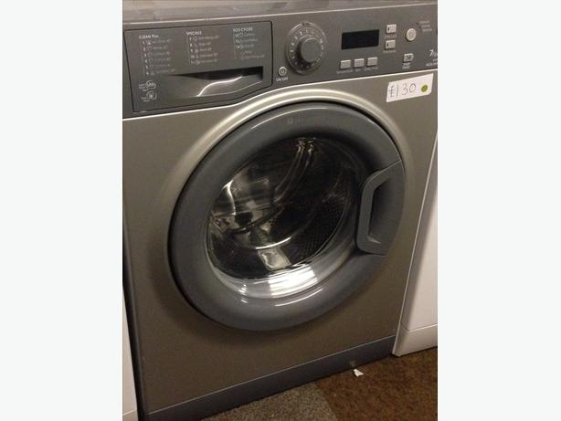 HOTPOINT GREY 7KG WASHING MACHINE0