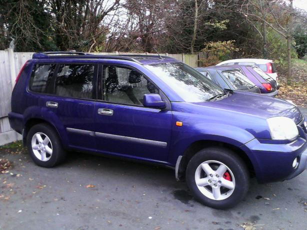 Nissan x-trail 4+4 2002 petrol new mot p.ex considered