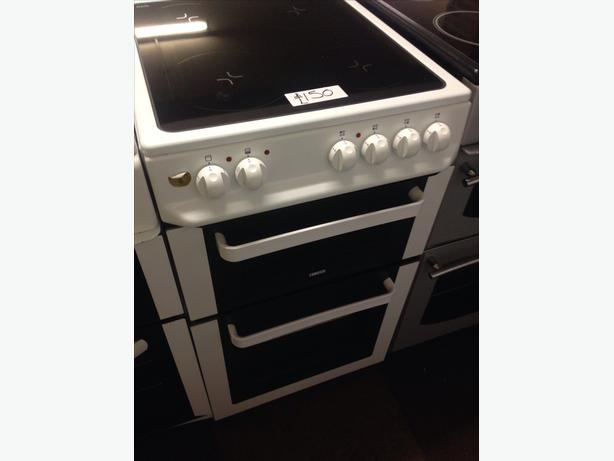 50CM ZANUSSI CERAMIC TOP ELECTRIC COOKER