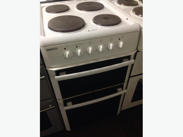 BEKO PLATED TOP ELECTRIC COOKER 50CM