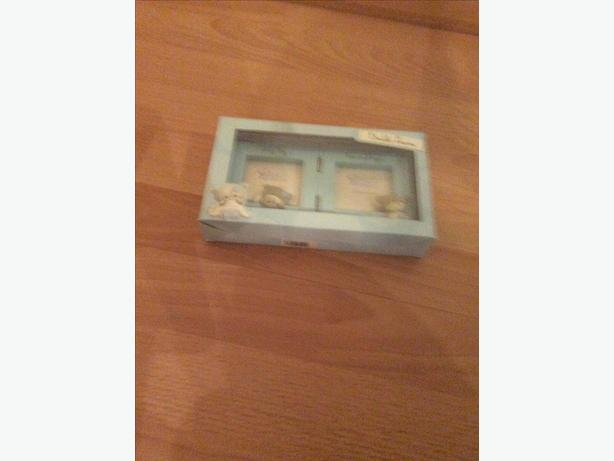 Brand new baby boy photo frame
