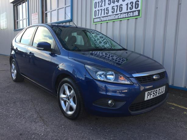 2010 Ford Focus 1.6 Zetec **FINANCE AVAILABLE* *F/S/H**