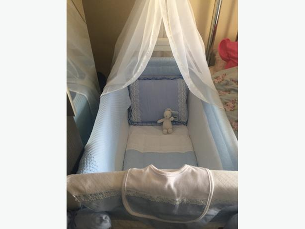 silver cross cot for sale