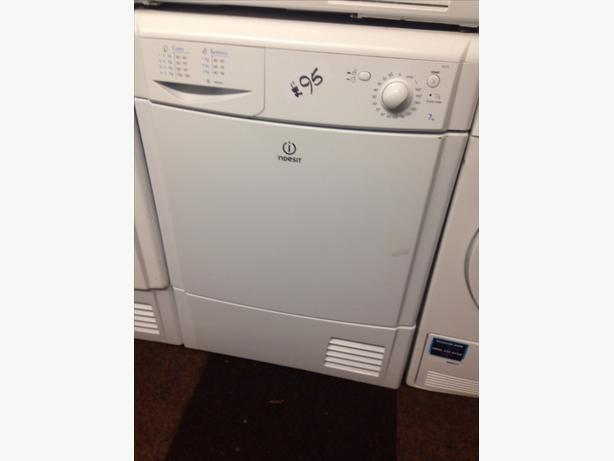 WHITE 7KG BEKO CONDENSER DRYER