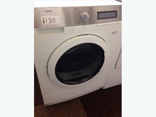 AEG 6KG CONDENSER DRYER WHITE3