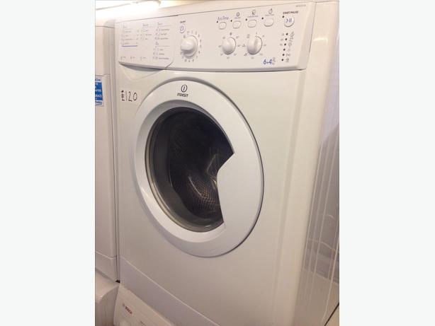 INDESIT WASHER DRYER 6+4KG WHITE0