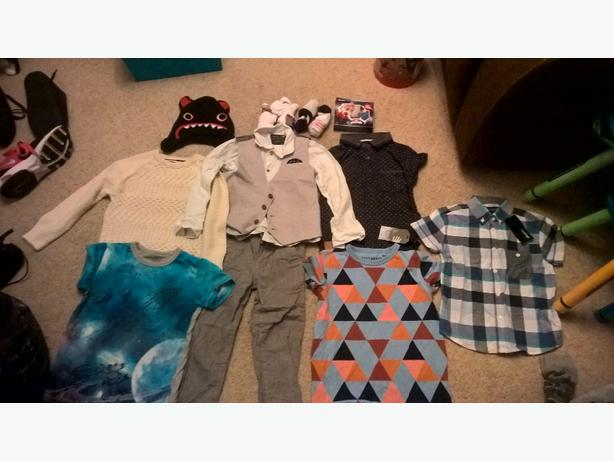 bundle of children's clothes 4-5years