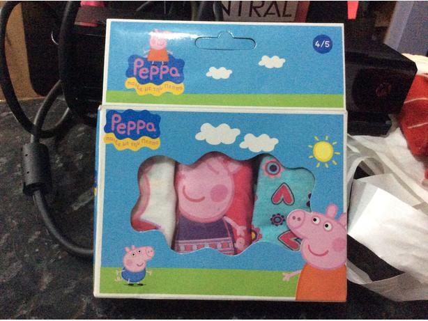 Peppa pig pants age 4/5