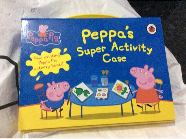 Peppa pig activity set 5books