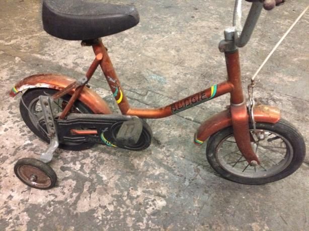 childs raleigh budgie bike,....70s ????.....budgie bike