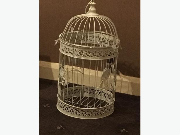 christmas birdcage t light