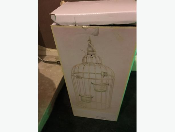 tealight birdcage holder