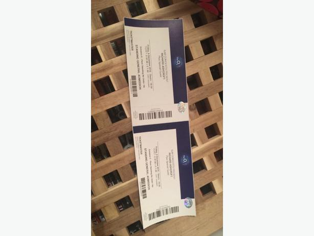 x2 Richard Ashcroft tickets