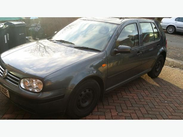 BARGAIN VW GOLF 1.6 LONG MOT TAXED